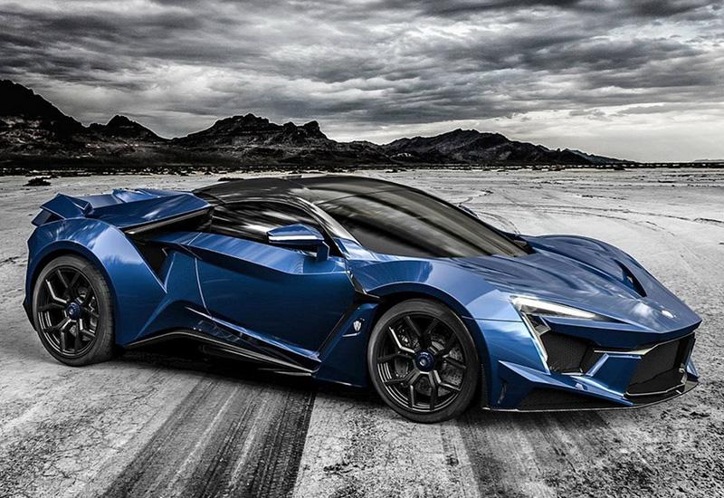 8 место W Motors Fenyr SuperSport – около 1,9 миллиона долларов