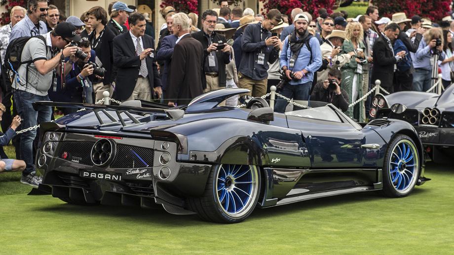1 место Pagani Zonda HP Barchetta – около 15 миллионов долларов