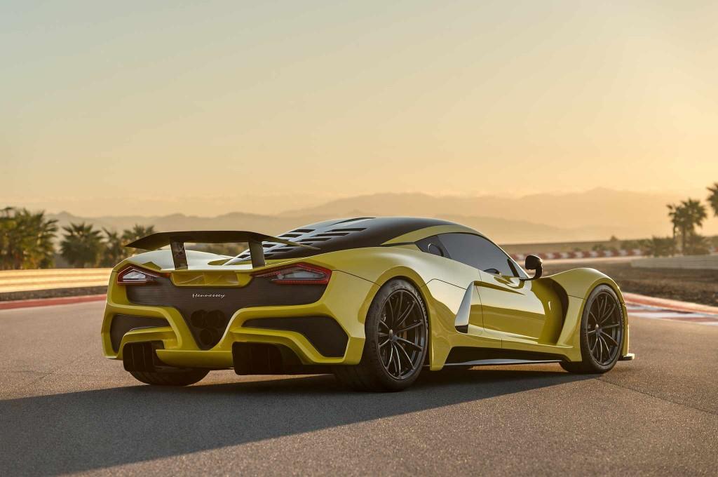 10 место Hennessey Venom F5 – 1,6 миллиона долларов