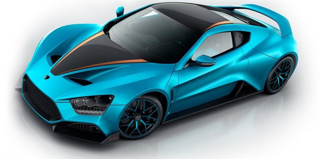 9 место Zenvo TS1 GT – 1,8 миллиона долларов