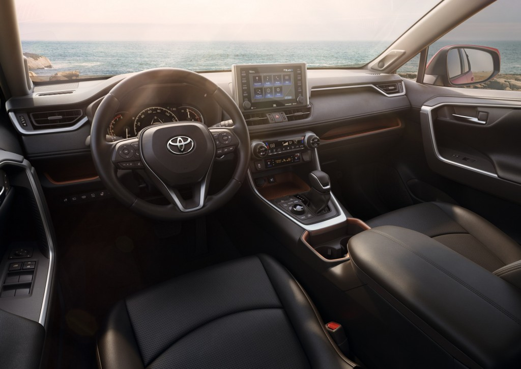 Новая Toyota RAV4 2019 представлена официально