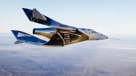 Virgin Galactic провела первый пилотируемый полет нового космоплана
