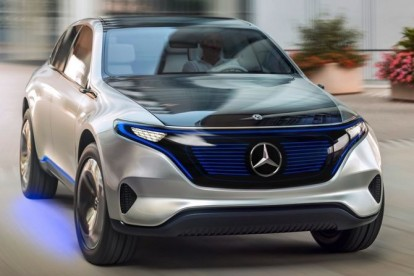 Первое официальное видео электрического кроссовера Mercedes-Benz EQC