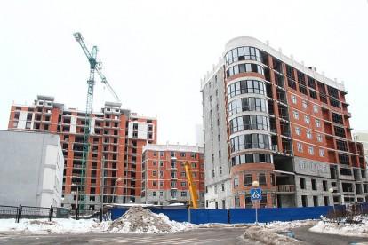 В прошлом году в Киеве в эксплуатацию было принято на треть больше жилья, чем в позапрошлом