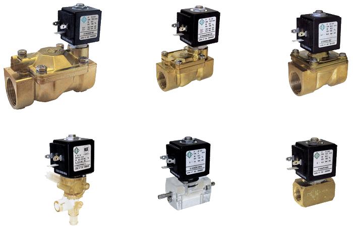Электромагнитные клапана для воды: основные элементы, принцип работы