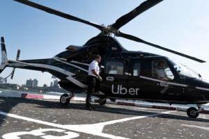 Uber запустил вертолетное такси для всех пользователей в Нью-Йорке