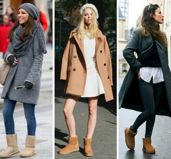 Угги — очень оригинальная обувь на зиму