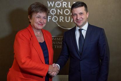 Украина получила от МВФ $2,7 млрд.